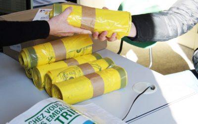 Nouvelle dotation annuelle pour les sacs jaunes