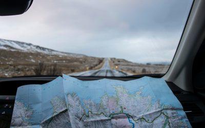 Plan des chemins de randonnées Nogent le Bernard
