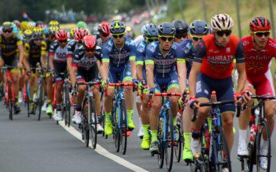 Course cycliste le 10 avril 2016