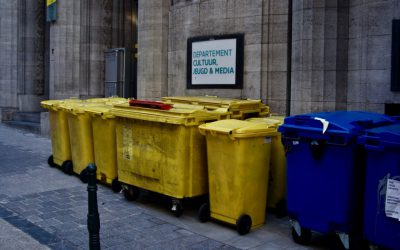 Collecte ordures ménagères semaine de l'Ascension