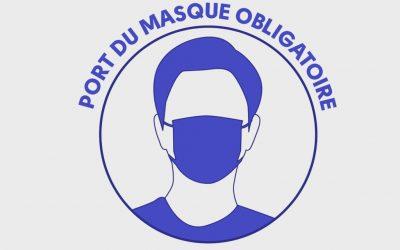 Port du masque obligatoire pour 99 communes de la Sarthe