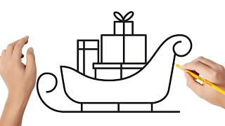 Remise des cadeaux suite au jeu-concours des traîneaux de Noël.